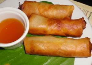 The Colombian version of Chinese spring rolls. Hot, crispy, greasy and delish.